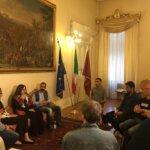 Una delegazione istituzionale curda ricevuta al Palazzo Municipale di Livorno